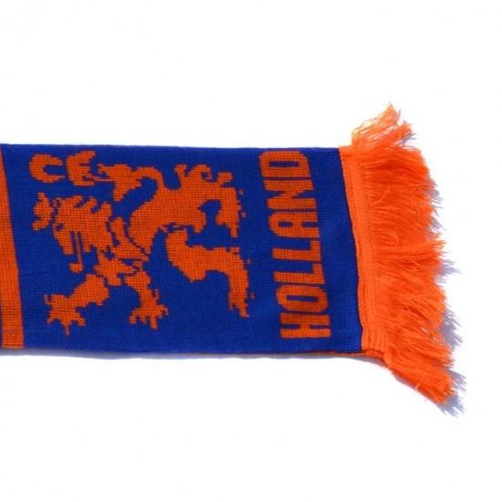 Holland scarf orange blue dutch lion