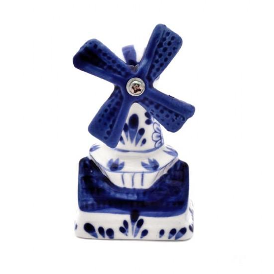 Sawmill delft blue floral decoration