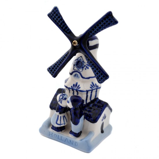 Sawmill delft blue kissing couple