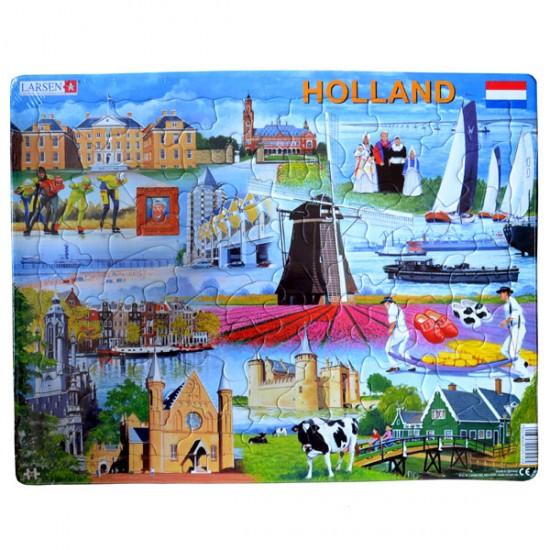 Puzzle holland attraktionen larsen