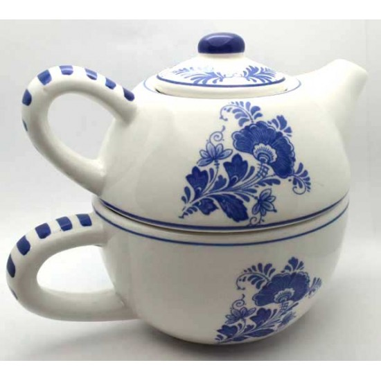 Tea for one delfts blauw