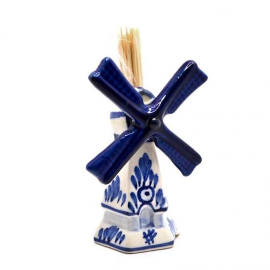Cocktail stick holder delft blue windmill