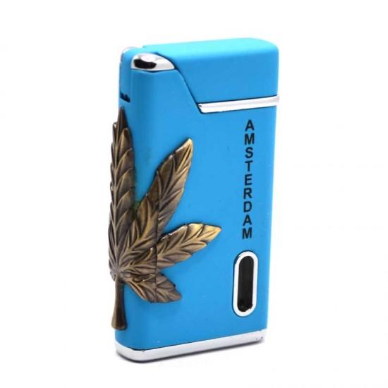 Aansteker cannabis amsterdam blauw