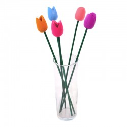 DESIGN WOODEN TULIPS MODERN SPRING COLORS