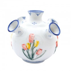 TULIP VASE DELFT BLUE FLOWER COLOR