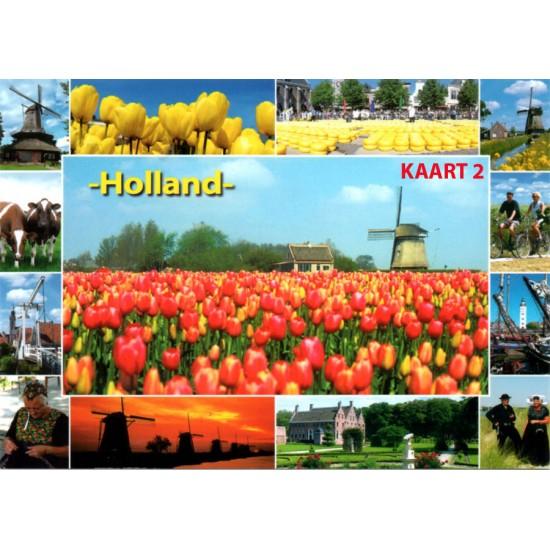 Hou vol pakketje holland door de brievenbus