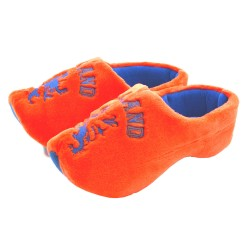 CLOGSLIPPERS WOODEN SHOE SLIPPERS DUTCH LION ORANGE