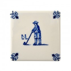 TILE PLAYING CHILDREN GOLF A