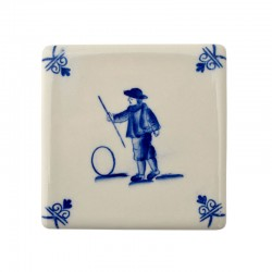 TILE PLAYING CHILDREN HOOP