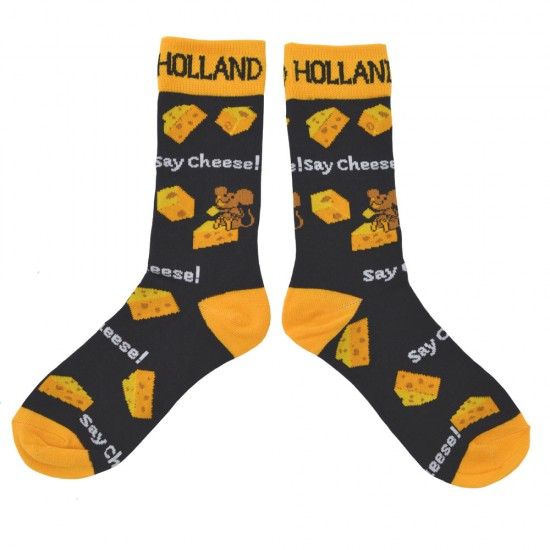 SOCKS HOLLAND SAY CHEESE