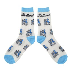 SOCKS DELFT BLUE KISSING COUPLE HOLLAND