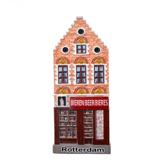 Koelkastmagneet Rotterdam bierwinkel