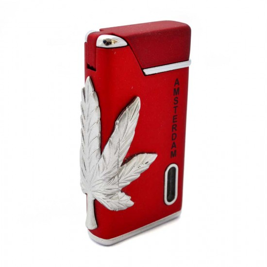 Torch lighter amsterdam cannabis red