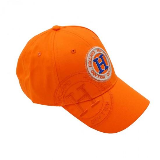 Pet baseball cap Holland  oranje stamp H katoen robin ruth