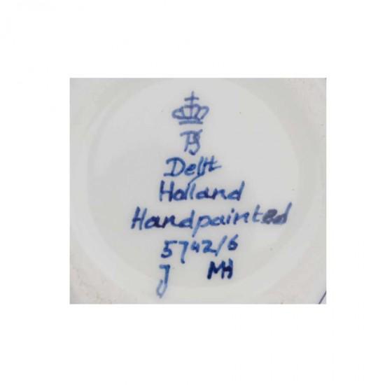 Sieradendoosje delfts blauw molen stervorm handgeschilderd