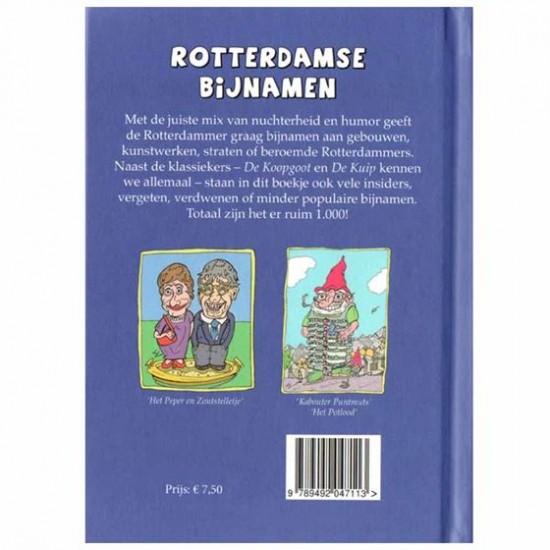 Pocketboekje rotterdamse bijnamen cadeau