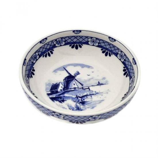Delfts blauw tapasschaaltje - traditionele decoratie