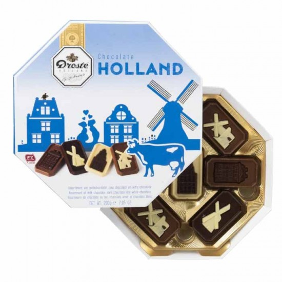 Droste chocolate selection holland edition gift box