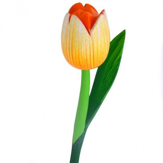 Holz tulpe gelb 36 centimeter