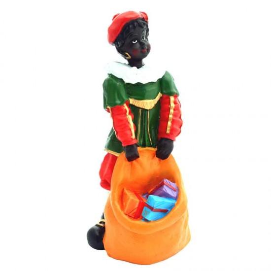 Figur piet geschenke im tasche autentisch kostum