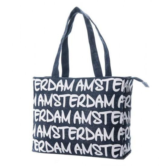 Handtas schoudertas Amsterdam Katie L pastel - Robin Ruth