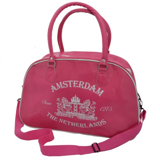 SPORTS BAG GOLD AMSTERDAM HOLLAND CROSSES