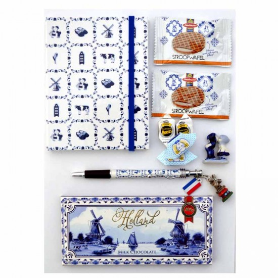 Geschenkpakket liefde uit holland brievenbus