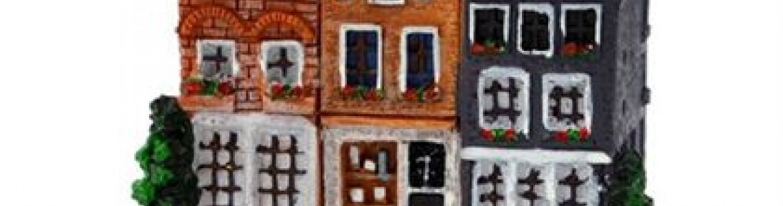 Dutch Figurines and Amsterdam Canal Houses