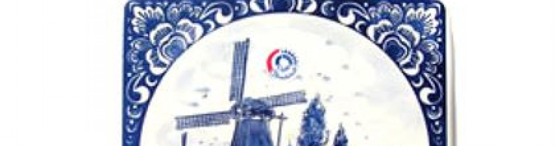 Delft blue Cheese boards & cutlery - Dutch Gifts & Souvenir Shop