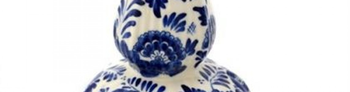 Delft Blue Vases and pottery