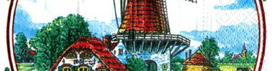Dutch Napkins and Coasters