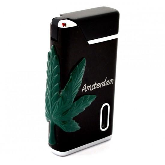 Torch lighter amsterdam cannabis weed black greenlight