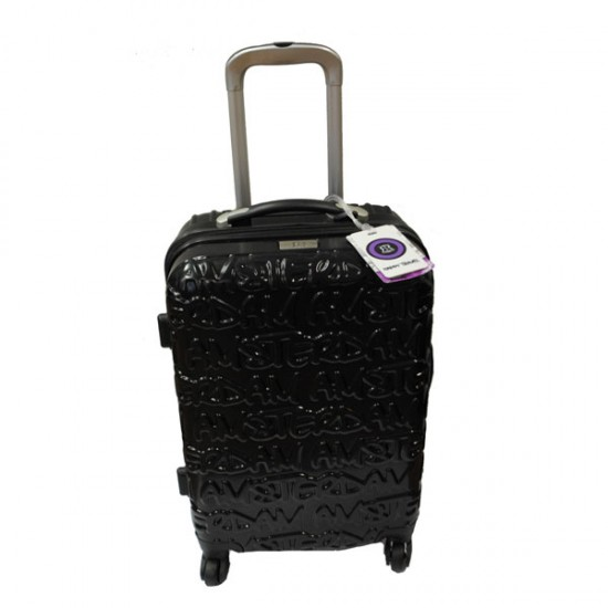 AMSTERDAM TRAVEL TROLLEY BLACK