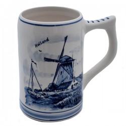 BEER MUG DELFT BLUE 0.5 L. SPHERE CUP