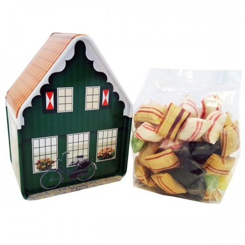 HOLLAND HOUSE CANDY CAN GREEN SWEETS MIX - Figurines and