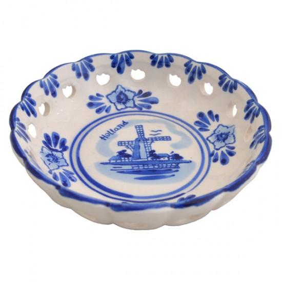 Bonbon dish delft blue holland 12 cm