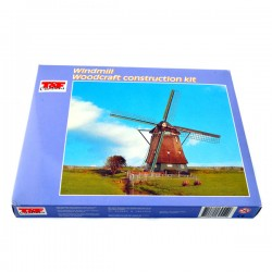 CONSTRUCTION KIT WOODEN WINDMILL 30