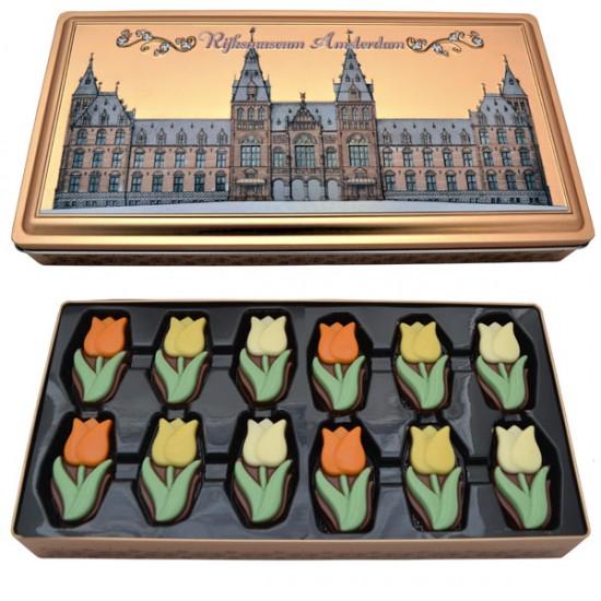 Gift tin rijks museum amsterdam chocolates