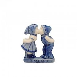 MAGNET DELFT BLUE KISSING COUPLE 5.5 CM