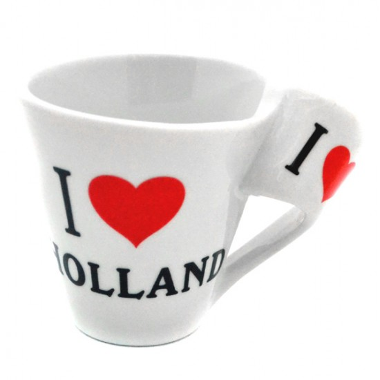 ESPRESSO COFFEE CUP LOVE HOLLAND HEART