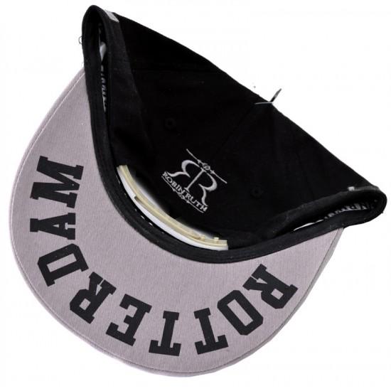 BASEBALL CAP BLACK ROTTERDAM RTM ROBIN RUTH