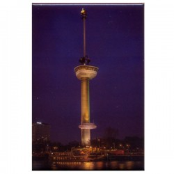 PHOTO MAGNET ROTTERDAM EUROMAST BY NIGHT