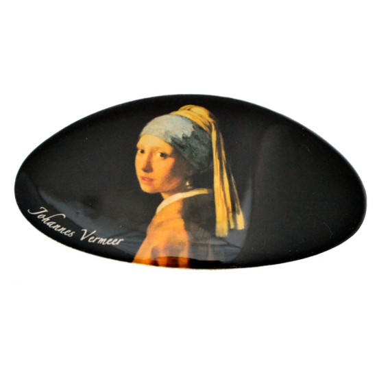 HAIRPIN GIRL WITH THE PEARL EARRING VERMEER