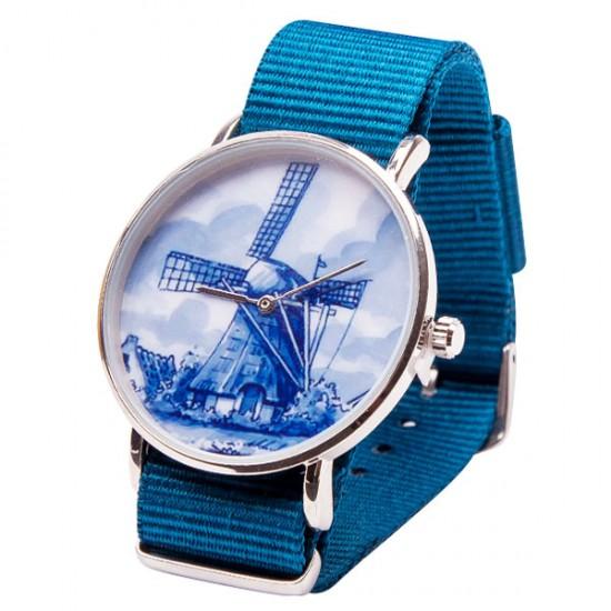 WATCH DELFT BLUE WINDMILL