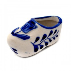 CLOGGIE DELFT BLUE TULIP RELIEF HOLLAND 6 CM