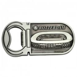 MAGNET BOTTLE OPENER FOOTBALL STADIUM DE KUIP ROTTERDAM