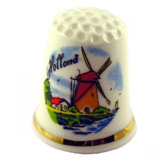 THIMBLE HOLLAND WINDMILL HOUSE COLOR