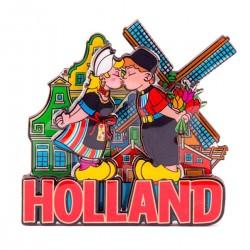 MAGNET HOLLAND COMPILATION KISSING COUPLE COLOR 2D