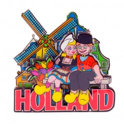 MAGNET HOLLAND COUPLE IN LOVE 2D COLOR