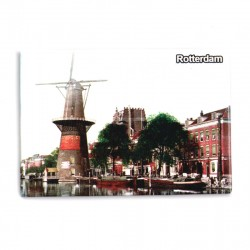 MAGNET PHOTO ROTTERDAM WINDMILL DELFSHAVEN